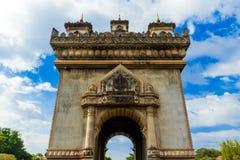 在老挝 库存照片