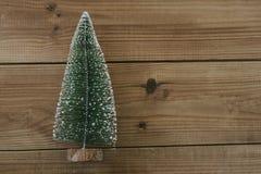 在老木头的圣诞节 库存图片
