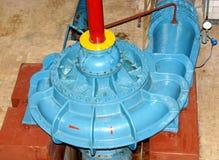 在老水力发电的循环泵 免版税库存图片