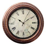 在老牌的时钟 免版税库存图片