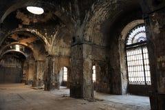 在老皇家火炮工厂真正的FÃ ¡ brica de塞维利亚,安大路西亚,西班牙ArtillerAaa里面  免版税库存照片