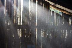 在老磨房的尘土 免版税库存照片