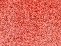 在老红色的特写镜头表面抽象样式绘了水泥墙壁被构造的背景 图库摄影