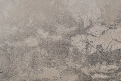 在老膏药的镇压围住,切削的油漆,风景样式,灰色背景,纹理 免版税库存图片