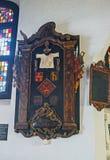 在老荷兰教会里 免版税库存图片