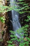 在老虎山的瀑布 免版税库存图片