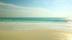 在老鹰海滩的惊人的看法阿鲁巴岛 加勒比 影视素材