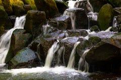 在考艾岛的瀑布 免版税图库摄影