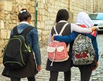 在耶路撒冷上街道  免版税库存照片