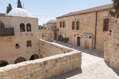 在耶路撒冷的步行 免版税图库摄影