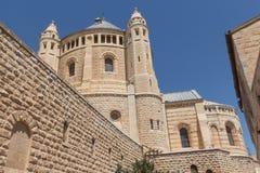 在耶路撒冷的步行 图库摄影