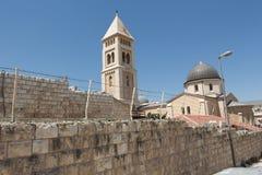 在耶路撒冷的步行 库存图片