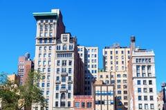 在联合广场的老高层,曼哈顿, NYC 免版税图库摄影