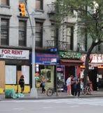 在联合广场,纽约附近的一条街道 免版税库存照片