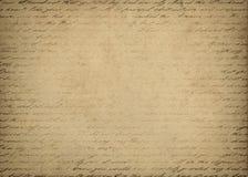 在背景上写字 免版税库存图片