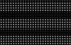 在背景中安排的LED光  免版税库存照片