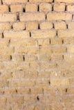 在背景图象的老砖墙 图库摄影