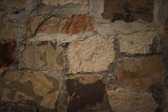 在背景明亮的编译的剑桥世纪教会附近五颜六色的详细资料后抽签物质砂岩纹理使用的墙壁xix 库存照片