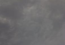 在背景灰色云彩的天空  免版税库存图片