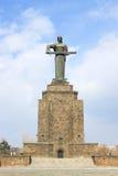 在胜利公园,耶烈万照顾亚美尼亚雕象 库存图片