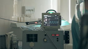 在腹部的外科手术 股票录像