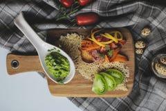 在膳食前的开胃菜 库存照片