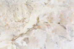在自然样式的白色大理石纹理与高分辨率 免版税库存照片
