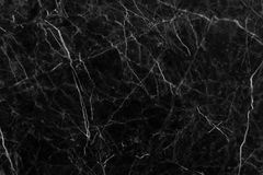 在自然样式的黑灰色大理石纹理与背景的高分辨率 瓦片石地板 免版税库存照片