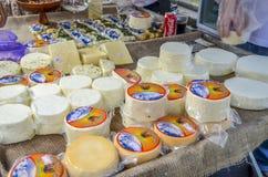 在自由广场的美食术星期在贝洛奥里藏特,巴西 免版税库存照片