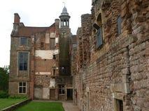 在舍伍德森林英国附近的Rufford修道院诺丁汉 库存图片