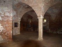 在舍伍德森林英国附近的Rufford修道院诺丁汉 免版税库存照片