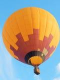 在航空学莫斯科天空(Moskovskoe Nebo),莫斯科第一个节日的热空气气球  2014年8月 免版税库存图片