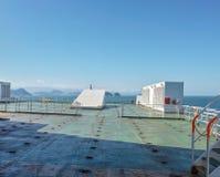 在船锚在桑托斯路 库存照片