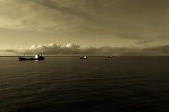 在船锚 免版税图库摄影