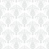 在艺术装饰样式的白色几何纹理 库存照片