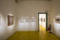 在芙烈达・卡萝博物馆的陈列里面 库存图片