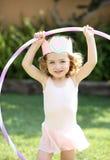 在芭蕾打扮的女孩 库存图片