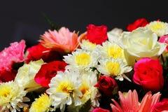 在花市场上的花 库存照片