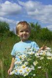 在花的幸福 免版税库存照片