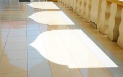 在苏丹Mahmud清真寺成拱形阴影在瓜拉Lipis,彭亨 免版税图库摄影
