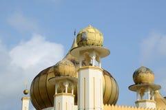 在苏丹Mahmud清真寺的圆顶在瓜拉Lipis,彭亨 免版税库存照片