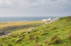 在苏格兰的西海岸的灯塔 免版税库存图片
