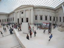 在英国博物馆的巨大现场London.The博物馆的收集的,计算超过7百万个对象,是在最大之中和最全面在世界上 库存照片
