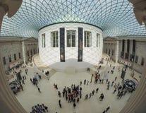 在英国博物馆的巨大现场London.The博物馆的收集的,计算超过7百万个对象,是在最大之中和最全面在世界上 免版税库存照片