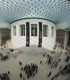 在英国博物馆的巨大现场London.The博物馆的收集的,计算超过7百万个对象,是在最大之中和最全面在世界上 图库摄影