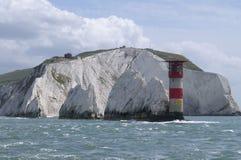 在英国的Southcoast的灯塔 库存图片