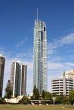 在英属黄金海岸的Q1大厦 免版税库存图片