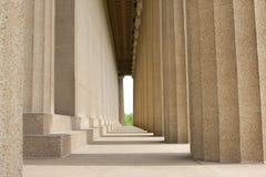在范德堡大学的历史的帕台农神庙大厦 库存图片