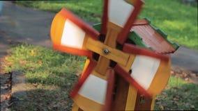 在草的小风车模型 股票录像
