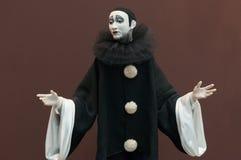 在莫斯科玩偶展示的童话玩偶 免版税库存图片